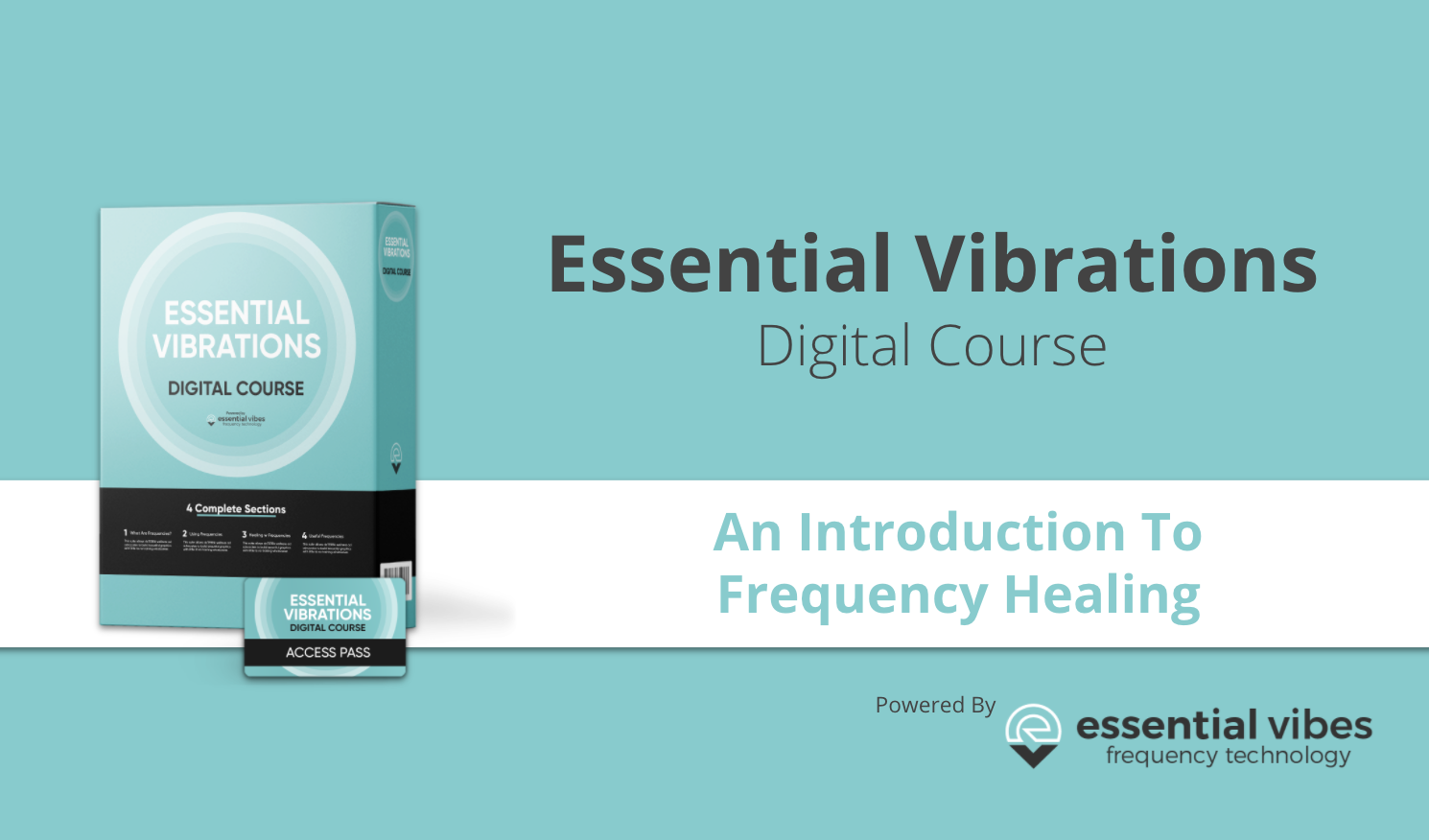 Essential Vibrations Frequency healing digital online course